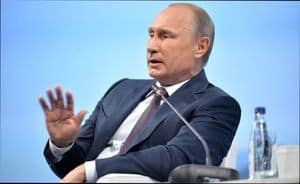 Адрес президента РФ Путина